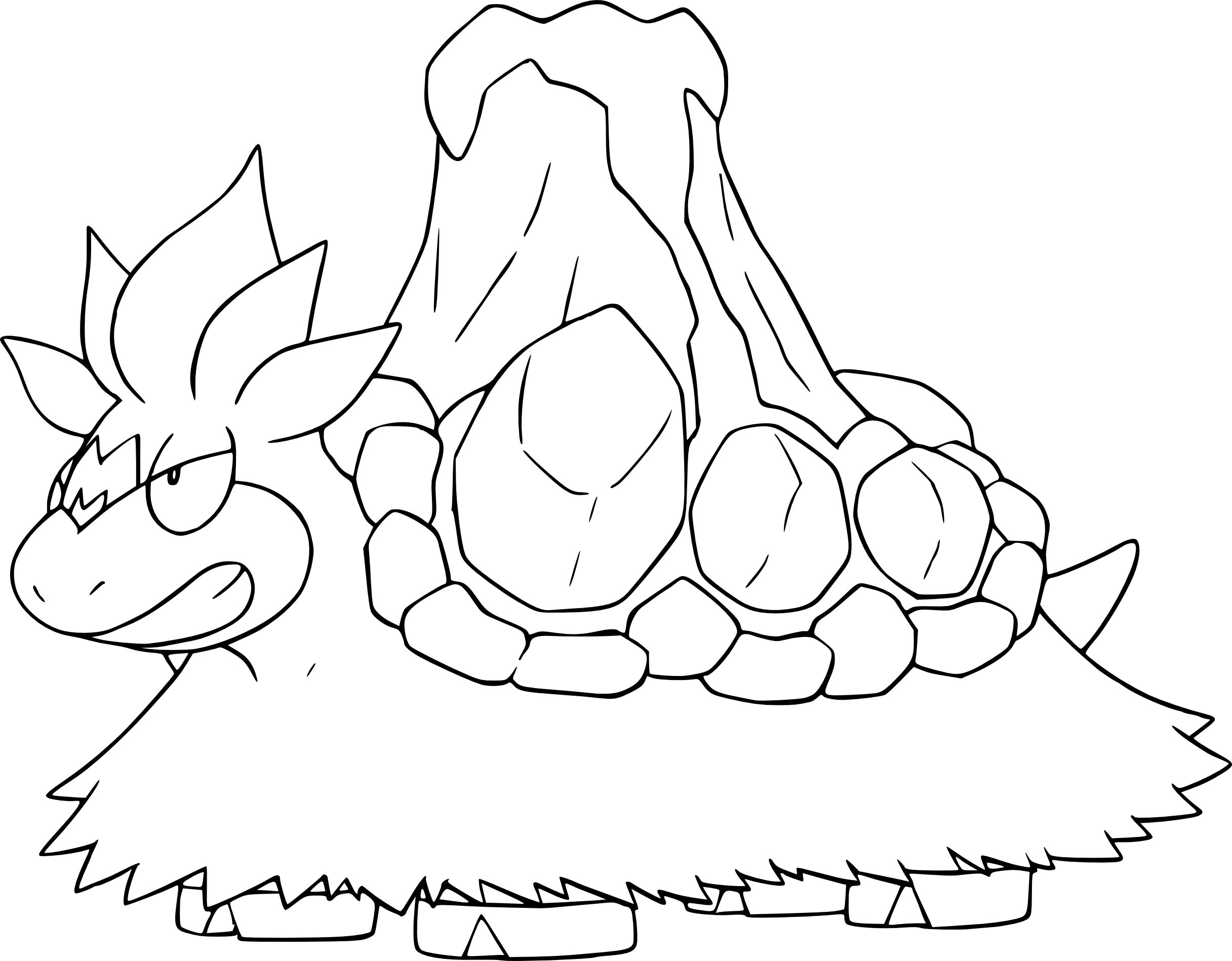 coloriage mega pokemon