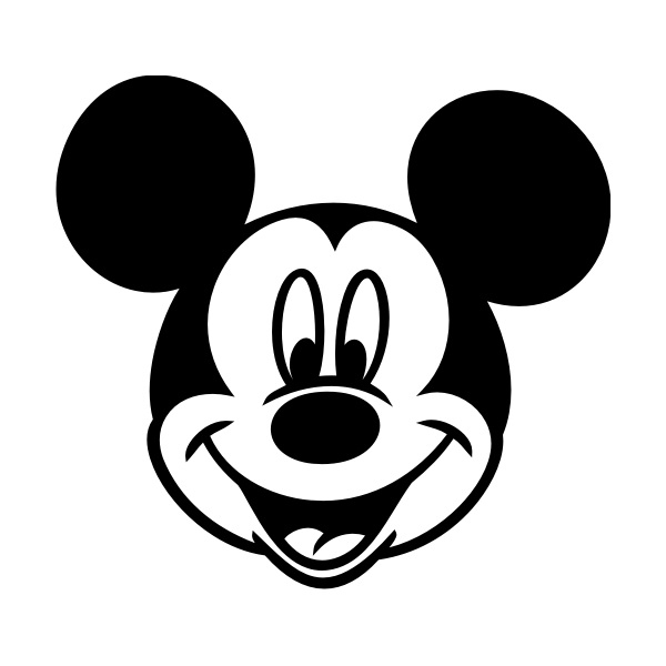 coloriage tete mickey