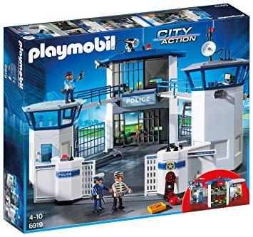 commissariat police playmobile
