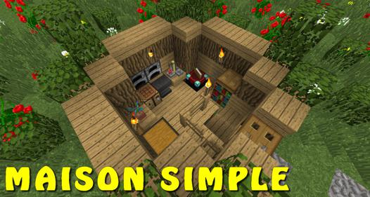 construction facile minecraft