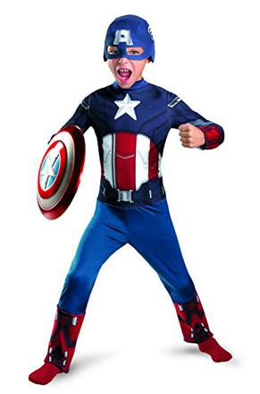 costume de captain america