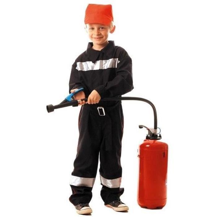 costume de pompier 4 ans