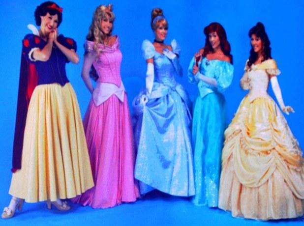 costume de princesse disney