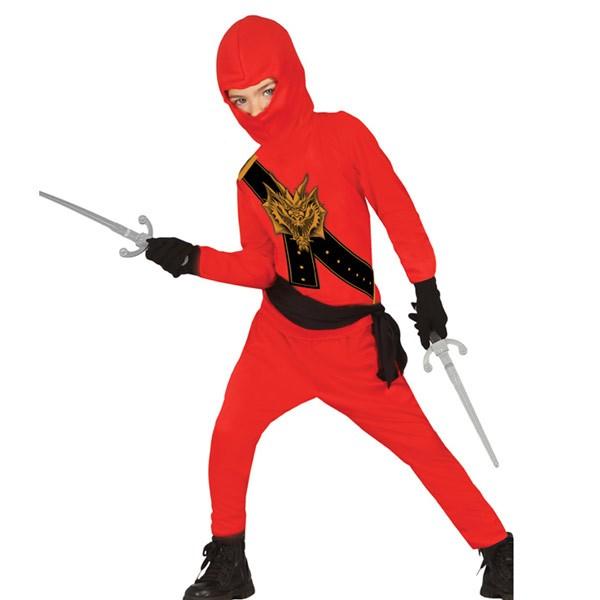 costume ninja rouge