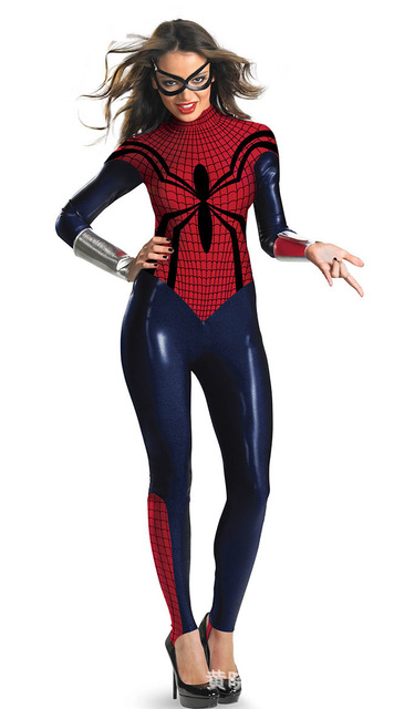 costume spiderman fille