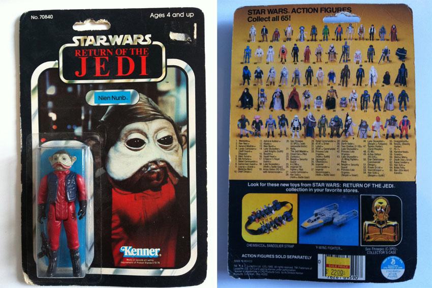 cote figurine star wars