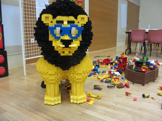 création de lego