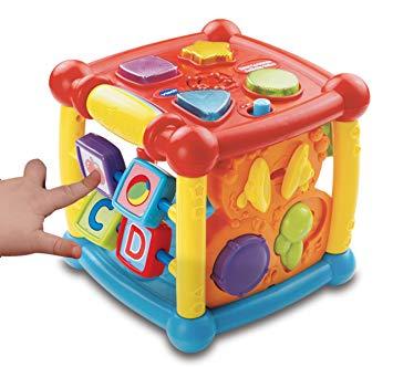 cube d eveil bebe