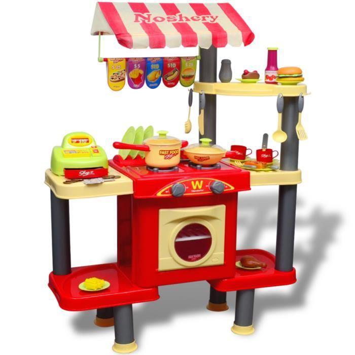 cuisine plastique jouet