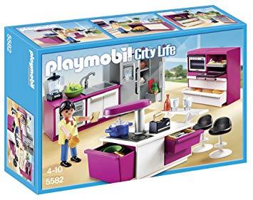cuisine playmobil 5582