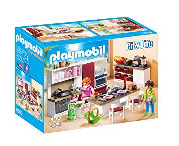 cuisine playmobil city life