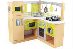 cuisine pour enfant en bois