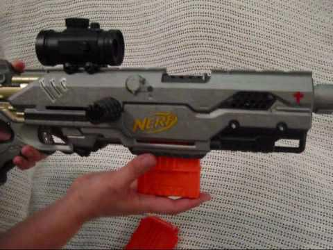 custom nerf longstrike