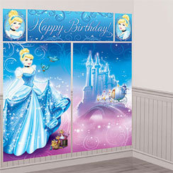 decoration anniversaire cendrillon