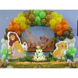 decoration anniversaire le roi lion