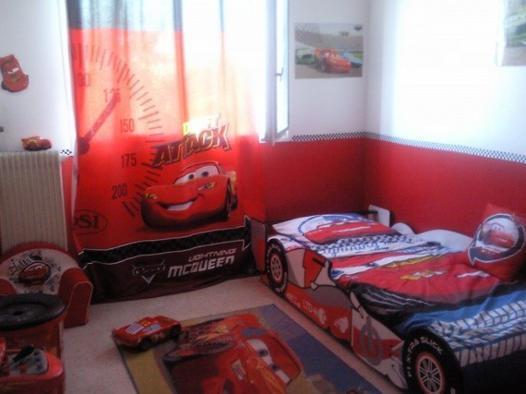 decoration chambre garcon cars