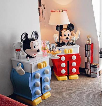 decoration mickey chambre