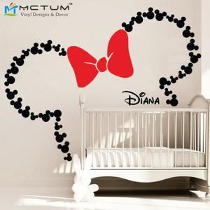 décoration minnie chambre