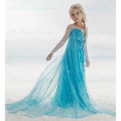 déguisement de la reine des neiges