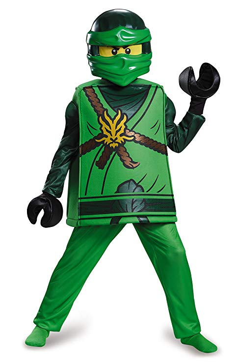 déguisement ninjago vert