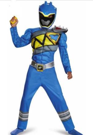 deguisement power ranger bleu