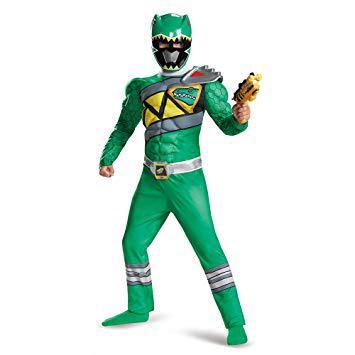 deguisement power ranger vert