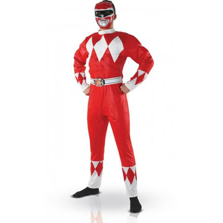 déguisement power rangers adulte