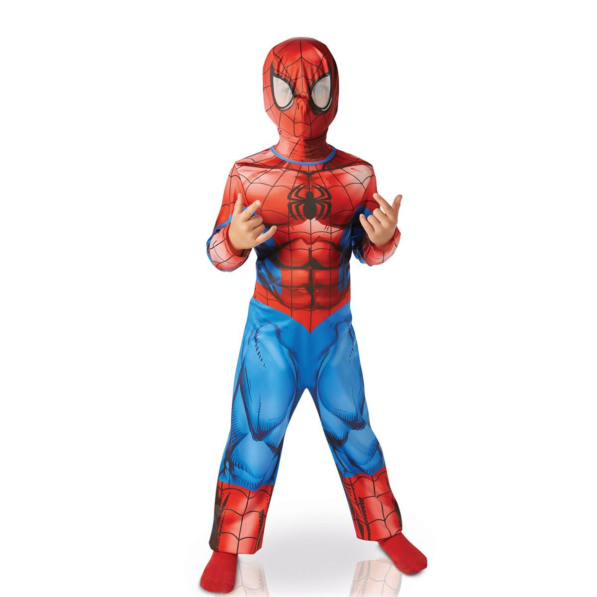 deguisement spiderman 3 ans