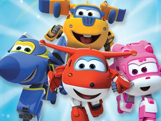 dessin animé super wings