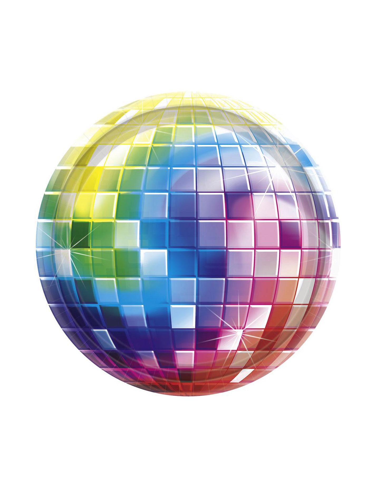 dessin boule disco