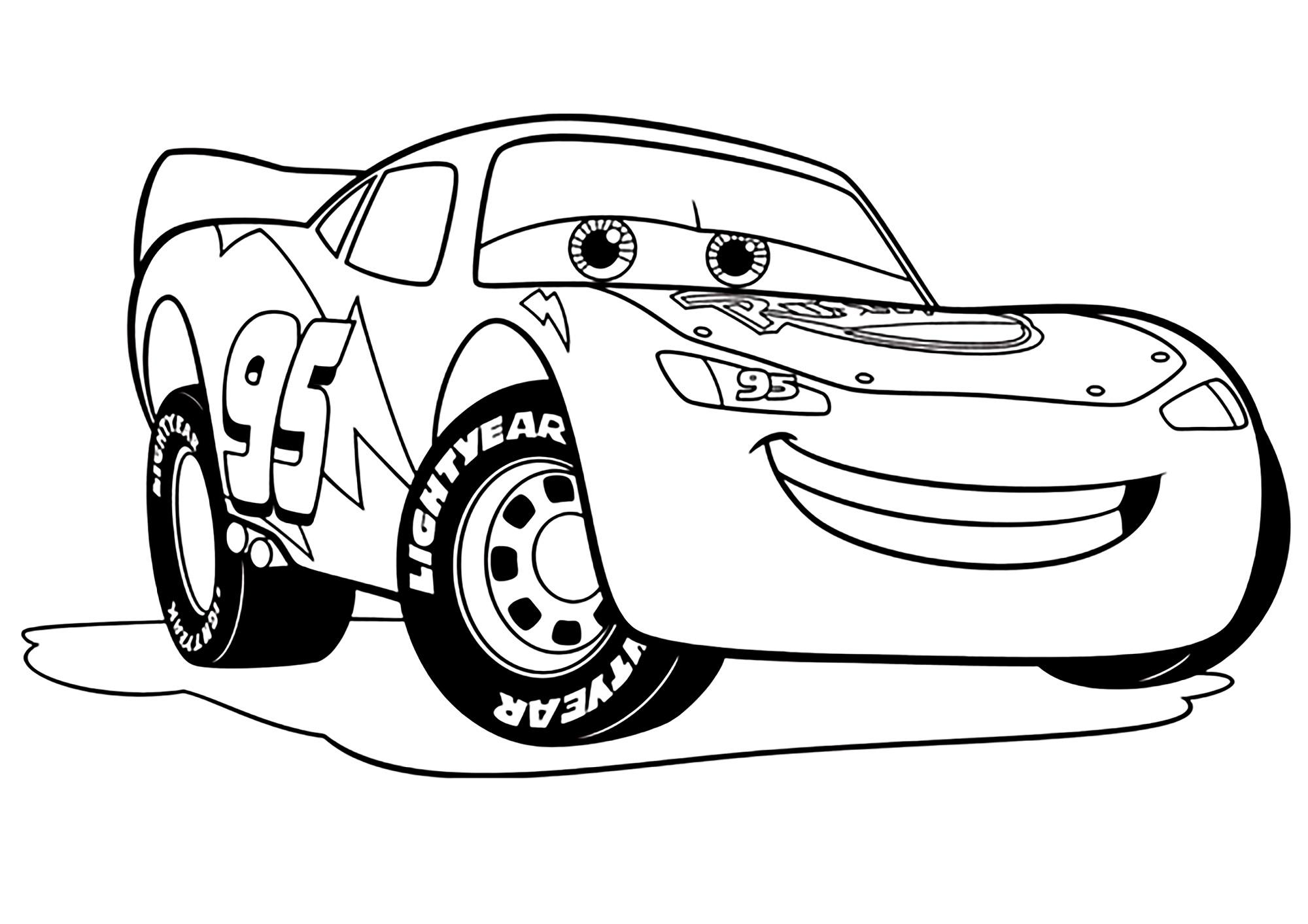 dessin cars 3