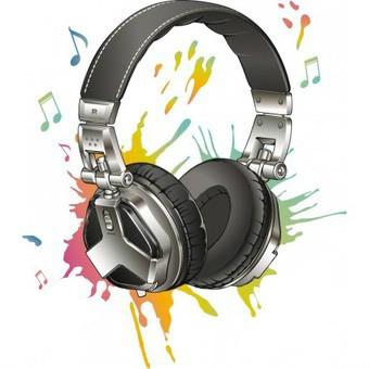 dessin casque audio