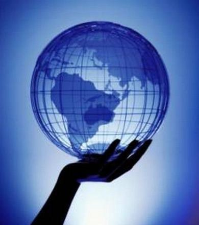 dessin mappemonde globe