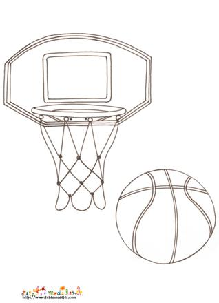 dessin panier basket