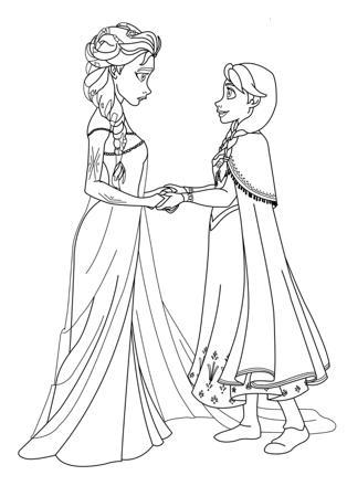 dessin princesse des neiges