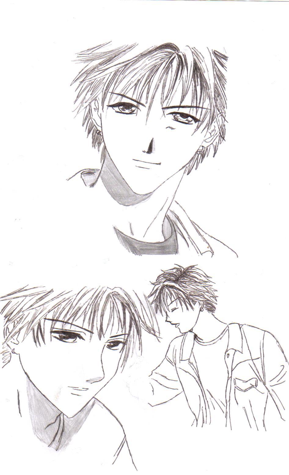 dessiner un manga garçon