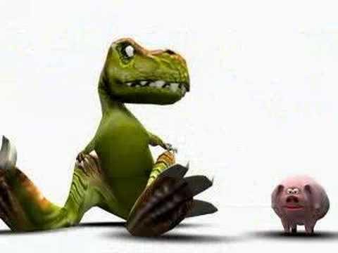dinosaure cochon pet