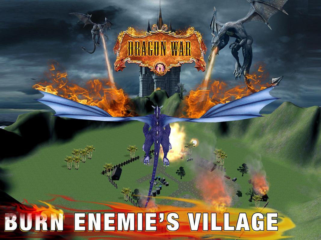 dragon war 3d