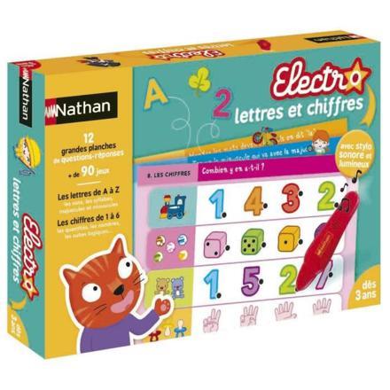 electro lettres et chiffres nathan