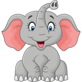 elephant rigolo