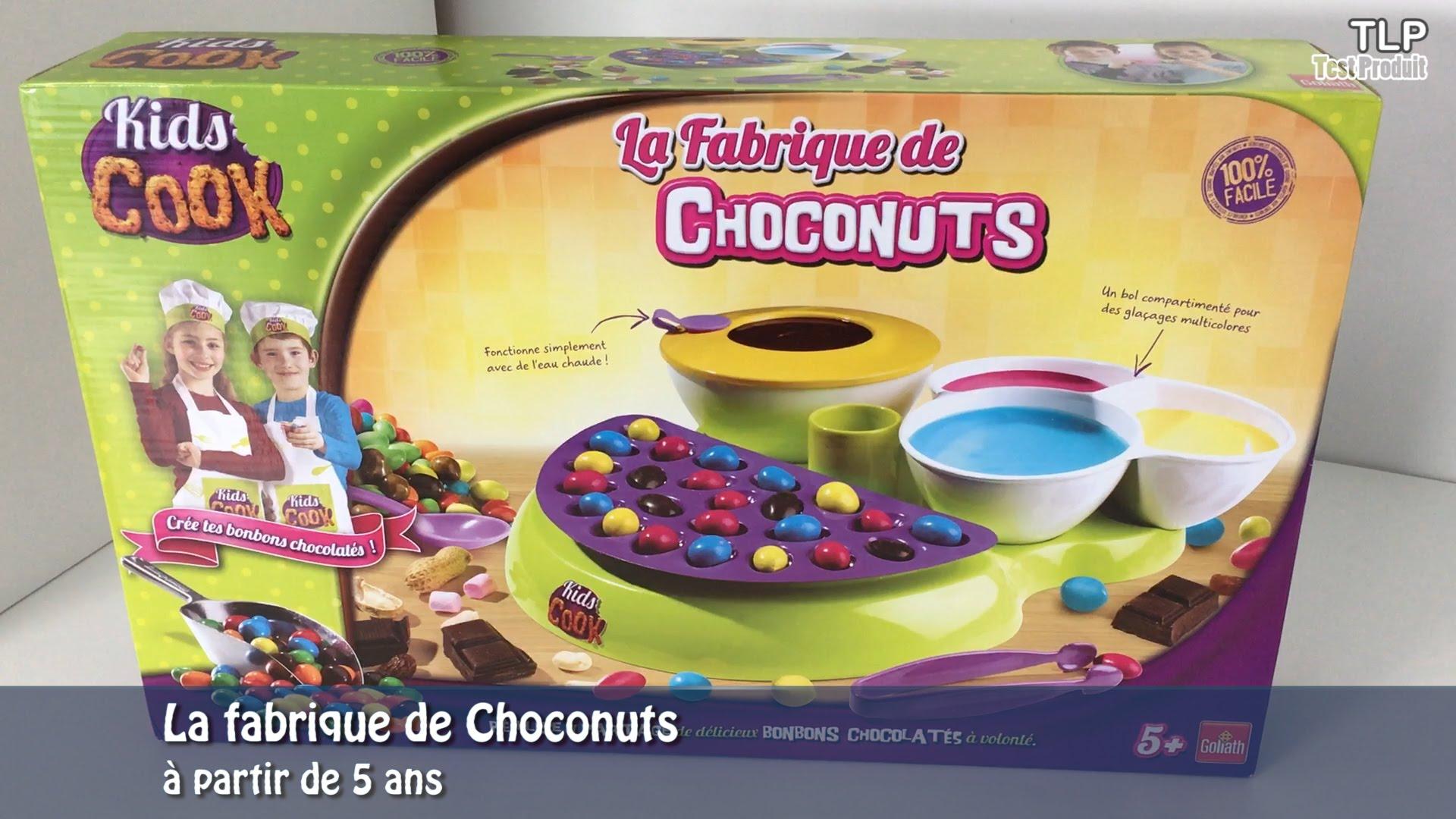 fabrique de choconuts