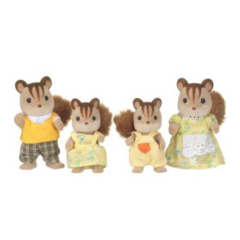 famille ecureuil sylvanian