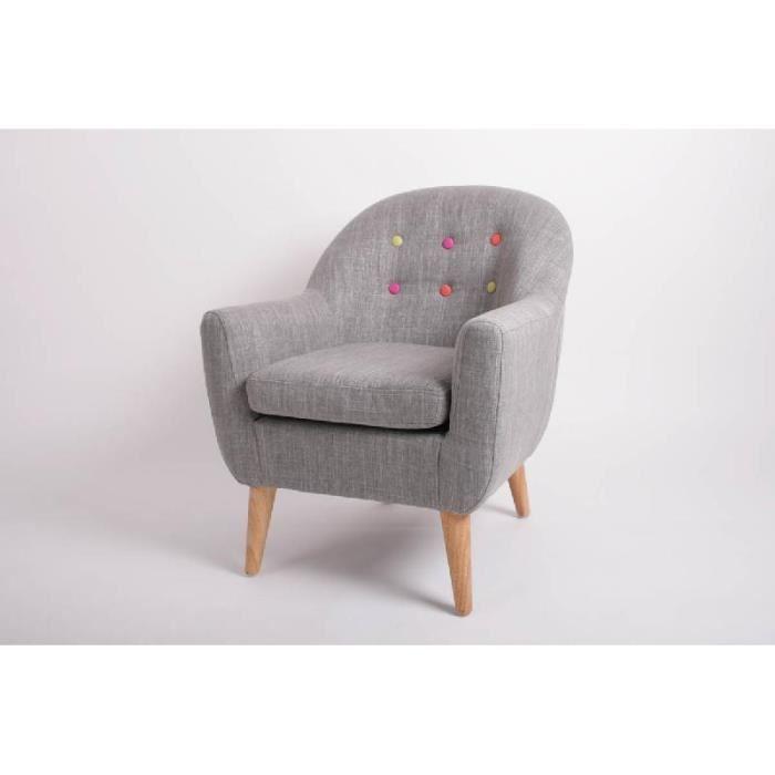 fauteuil enfant tissu