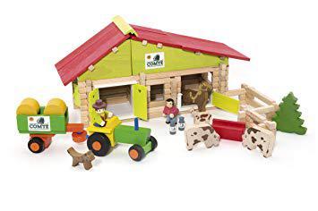 ferme avec animaux jouet