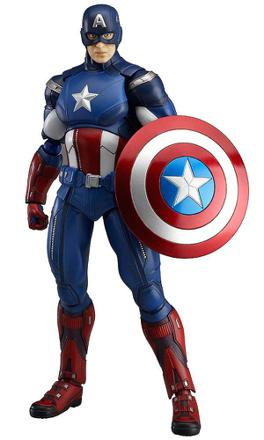figurine captain america avengers