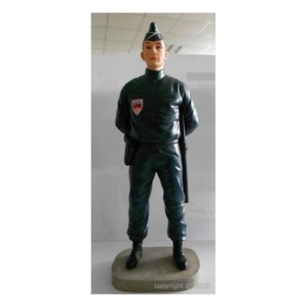 figurine police
