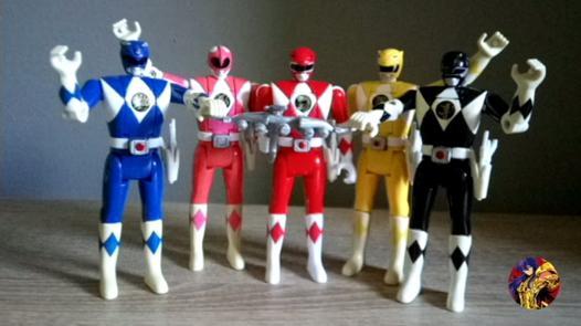 figurine power ranger