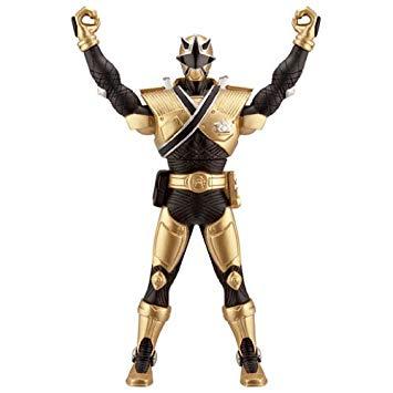 figurine power rangers samurai doré