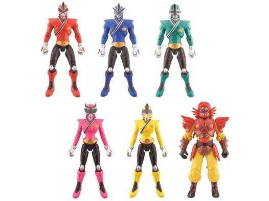 figurine power rangers samurai