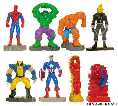 figurine super heros